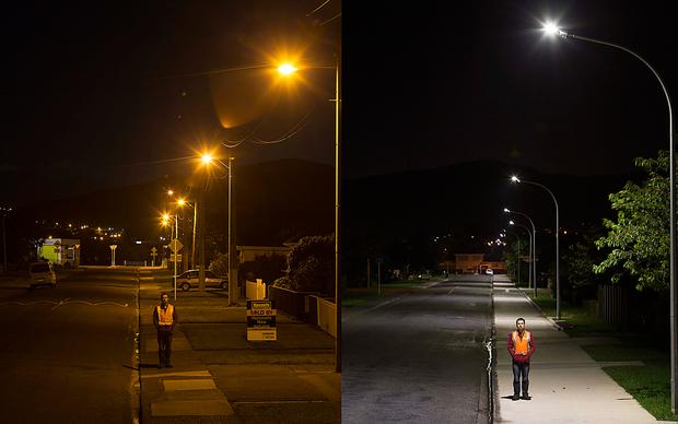 Улучшение цветопередачи при использовании светодиодного освещения улиц
