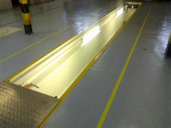 оптимальное расположение светильников в смотровой яме