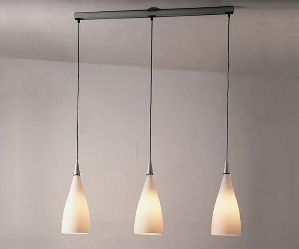 тройной подвесной светильник