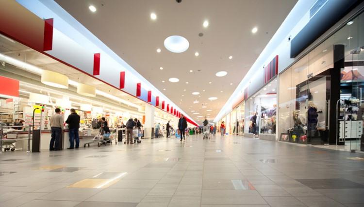Освещение торгового помещения